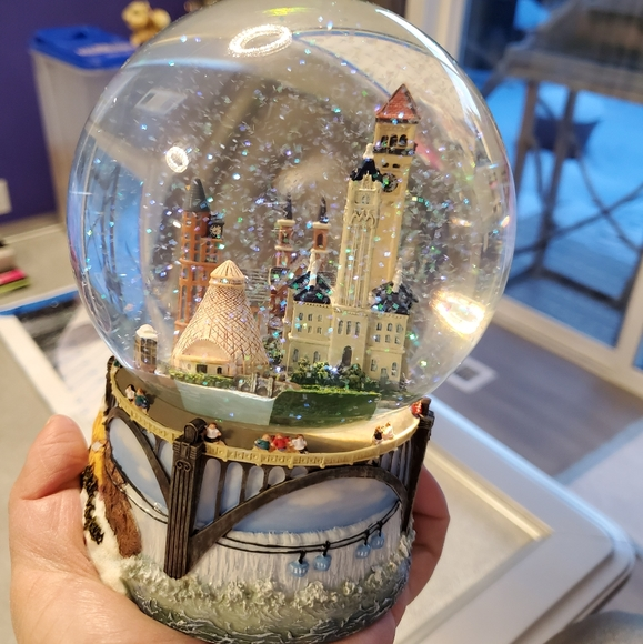 bon marche other city of spokane wa snow globe poshmark city of spokane wa snow globe